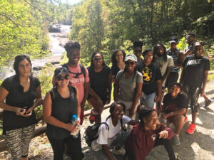 Elevation Scholars Program College Tour Wake Forest Hike DuPont Forest